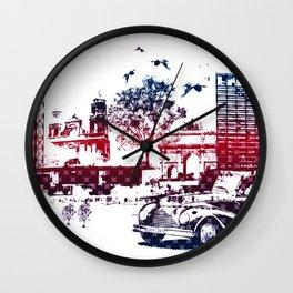 Fantasy city Wall Clock