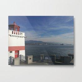 Lighthouse and light air Metal Print