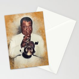 Louis Armstrong, Music Legend Stationery Cards