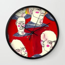 Jean-Luc  Wall Clock
