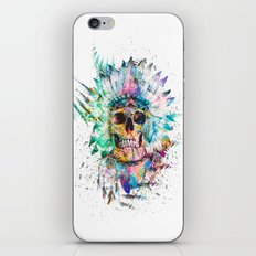 SKULL - WILD SPRIT iPhone & iPod Skin