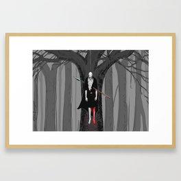 The Hanged God Framed Art Print