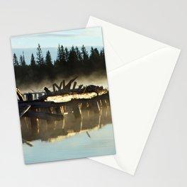 Mist on Gooseneck Trestle Stationery Cards