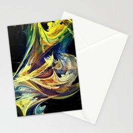 Dance of the paints Stationery Cards