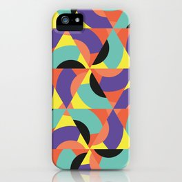 Geometric Memphis - Modern Memphis Milano tropical minimal tribal african geo summer scandinavian iPhone Case