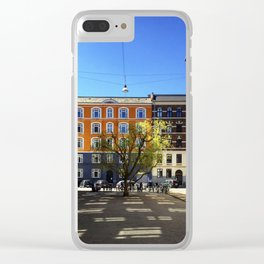 Nature will always find a way Clear iPhone Case