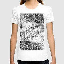Leafy Tiger Pattern T-shirt