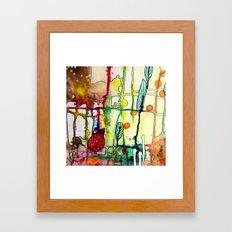 the mama (bright) Framed Art Print