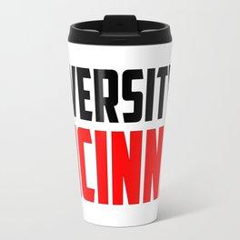 U of Cincinnati, Ohio Travel Mug