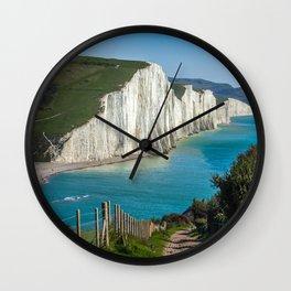 costline, England Wall Clock