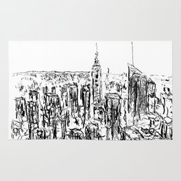 New York scribble style!! Rug