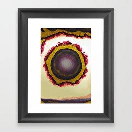 Sky Egg Framed Art Print