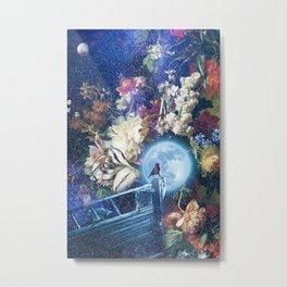 Sailing the Milky Way Metal Print