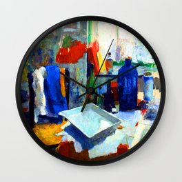 Rik Wouters Dining Table Wall Clock