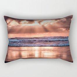 Northern California Sunset - Nature Photography Rectangular Pillow