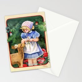 Gnome Forest Friends Stationery Cards