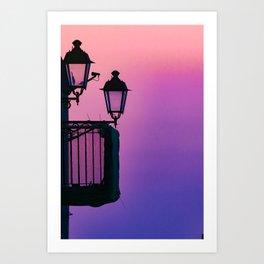 Sicily, lamps Art Print