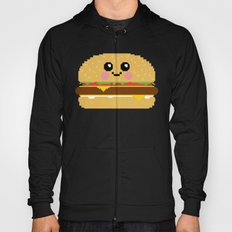 Happy Pixel Hamburger Hoody