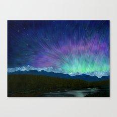 Arctic Aura - Painting Canvas Print
