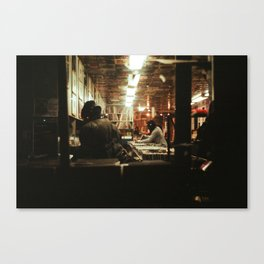 Record Shop Canvas Print