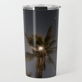 The Moon in a Palm Tree Travel Mug