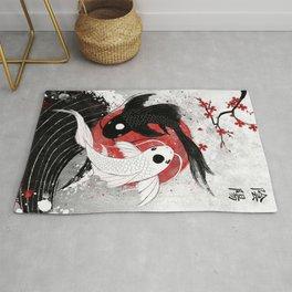 Koi fish - Yin Yang Rug