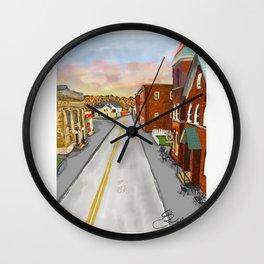Mainstreet Brunswick, MD Wall Clock