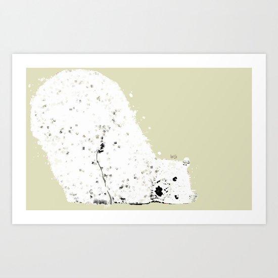 a bear's life Art Print