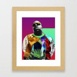The What Framed Art Print