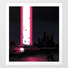 Invaders Art Print