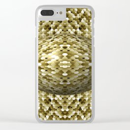 3105 Mosaic pattern #4 Clear iPhone Case
