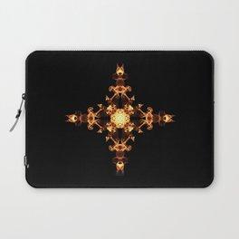 Fire Cross Laptop Sleeve