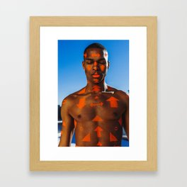 Tribe, Nick Framed Art Print