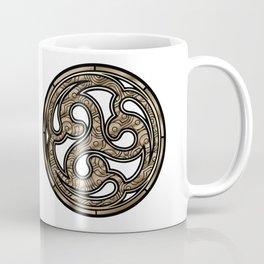 Bronze Medallion Coffee Mug