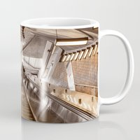 montreal Mugs featuring Montreal - Subway by Doug Dugas