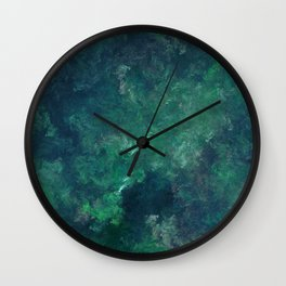 Flora.Under.Water Wall Clock