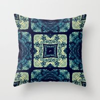1984 Throw Pillows featuring 1984 by Sheldon Henry