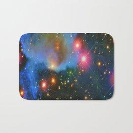 A Nebula showing off its colors Bath Mat