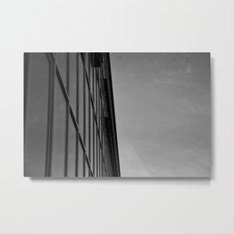 Contrast Metal Print