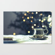 What Remains - Gold Canvas Print