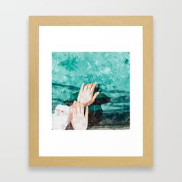 Holy Water Framed Art Print