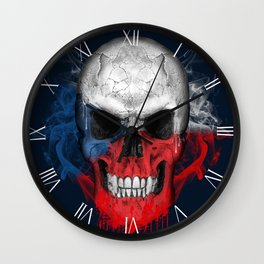 To The Core Collection: Czech Republic Wall Clock