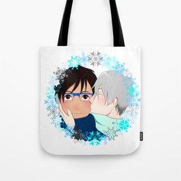 Winter Kisses Tote Bag
