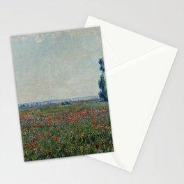 Claude Monet - Champ De Coquelicots Stationery Cards