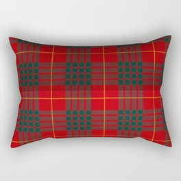 CAMERON CLAN SCOTTISH KILT TARTAN DESIGN Rectangular Pillow