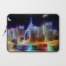 Starry Night New York City Laptop Sleeve
