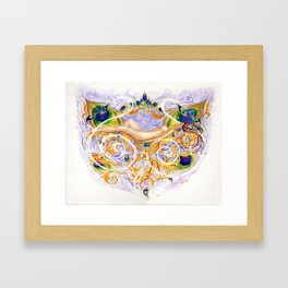 Dreaming Dryad Framed Art Print