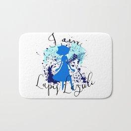 I am Lapis Lazuli Bath Mat