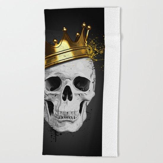 Royal Skull Beach Towel