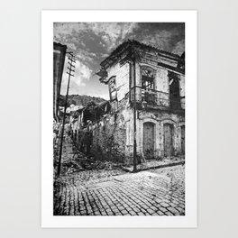Restaurante Casa do Ouvidor Art Print